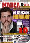 Portada diario Marca del 8 de Enero de 2010