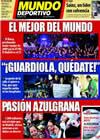 Portada Mundo Deportivo del 8 de Enero de 2010