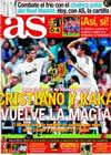 Portada diario AS del 10 de Enero de 2010