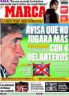 Portada diario Marca del 10 de Enero de 2010