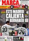 Portada diario Marca del 11 de Enero de 2010
