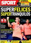 Portada diario Sport del 11 de Enero de 2010