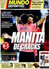 Portada Mundo Deportivo del 11 de Enero de 2010
