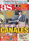 Portada diario AS del 12 de Enero de 2010