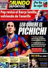 Portada Mundo Deportivo del 12 de Enero de 2010