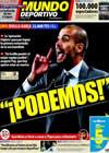 Portada Mundo Deportivo del 13 de Enero de 2010
