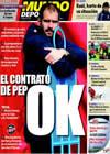 Portada Mundo Deportivo del 15 de Enero de 2010