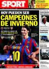 Portada diario Sport del 16 de Enero de 2010