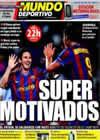 Portada Mundo Deportivo del 16 de Enero de 2010