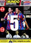 Portada Mundo Deportivo del 17 de Enero de 2010