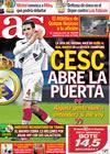 Portada diario AS del 20 de Enero de 2010