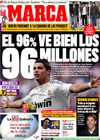 Portada diario Marca del 20 de Enero de 2010