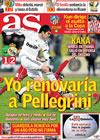 Portada diario AS del 21 de Enero de 2010