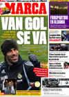 Portada diario Marca del 21 de Enero de 2010