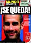 Portada Mundo Deportivo del 21 de Enero de 2010