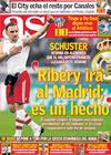 Portada diario AS del 22 de Enero de 2010