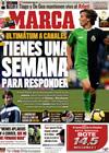 Portada diario Marca del 22 de Enero de 2010