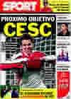 Portada diario Sport del 22 de Enero de 2010