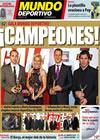 Portada Mundo Deportivo del 22 de Enero de 2010