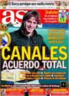 Portada diario AS del 23 de Enero de 2010