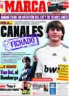 Portada diario Marca del 23 de Enero de 2010