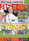 Portada diario AS del 25 de Enero de 2010