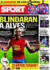 Portada diario Sport del 25 de Enero de 2010