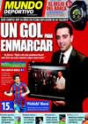Portada Mundo Deportivo del 25 de Enero de 2010