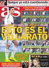 Portada diario AS del 26 de Enero de 2010