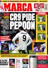 Portada diario Marca del 26 de Enero de 2010