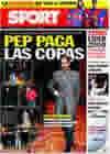 Portada diario Sport del 27 de Enero de 2010