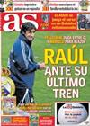 Portada diario AS del 28 de Enero de 2010