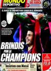 Portada Mundo Deportivo del 28 de Enero de 2010