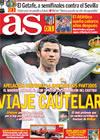 Portada diario AS del 29 de Enero de 2010