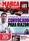 Portada diario Marca del 29 de Enero de 2010