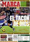 Portada diario Marca del 31 de Enero de 2010