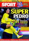 Portada diario Sport del 31 de Enero de 2010