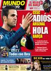 Portada Mundo Deportivo del 2 de Febrero de 2010