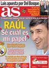 Portada diario AS del 3 de Febrero de 2010