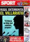 Portada diario Sport del 3 de Febrero de 2010