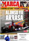 Portada diario Marca del 4 de Febrero de 2010