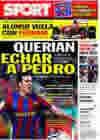 Portada diario Sport del 4 de Febrero de 2010