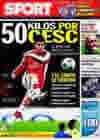 Portada diario Sport del 5 de Febrero de 2010