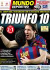 Portada Mundo Deportivo del 7 de Febrero de 2010