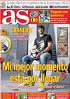 Portada diario AS del 8 de Febrero de 2010