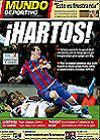 Portada Mundo Deportivo del 8 de Febrero de 2010