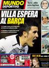 Portada Mundo Deportivo del 9 de Febrero de 2010