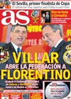 Portada diario AS del 11 de Febrero de 2010