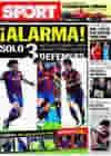 Portada diario Sport del 11 de Febrero de 2010