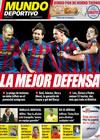 Portada Mundo Deportivo del 12 de Febrero de 2010